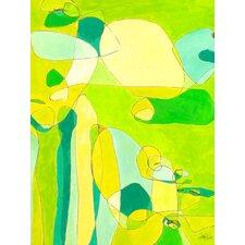 Green Stag Mites Canvas Art