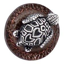 Pollino Turtle Mushroom Knob;