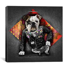 'Bad Dog' by Maximilian San Graphic Art on Canvas