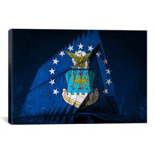 Air-Force Flag, US Air Force Academy Chapel Graphic Art on Canvas