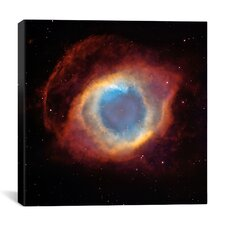 Helix (Eye of God) Nebula (Hubble Space Telescope) Canvas Wall Art
