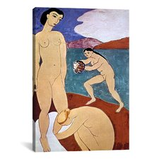 'Le Luxe II (1908)' by Henri Matisse Painting Print on Canvas