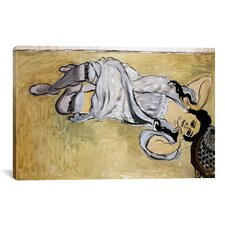 'Lorette with Cup of Coffee' by Henri Matisse Painting Print on Canvas