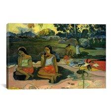 'Nave Nave Moe (Sacred Spring / Sweet Dreams)' by Paul Gauguin Painting Print on Canvas