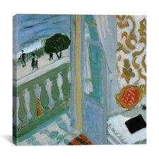 """Windows from the Renaissance to the Present Durer, Monet, Magritte"" Canvas Wall Art"