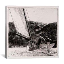"""The Cat Boat, 1922"" Canvas Wall Art by Edward Hopper"