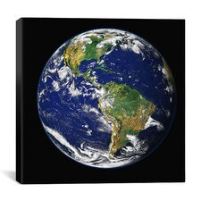 The Blue Marble from Apollo 17 Canvas Wall Art