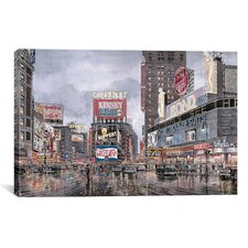 """""""Times Square: New York"""" Canvas Wall Art by Stanton Manolakas"""
