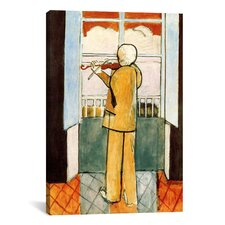 """""""Violinist at the Window"""" Canvas Wall Art by Henri Matisse"""