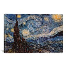 """The Starry Night"" by Vincent Van Gogh Painting Print on Canvas"