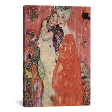 'Women Friends 1916-1917' by Gustav Klimt Painting Print on Canvas