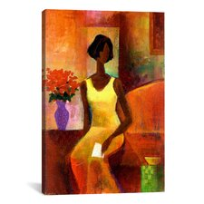 """""""The Letter"""" Canvas Wall Art by Keith Mallett"""