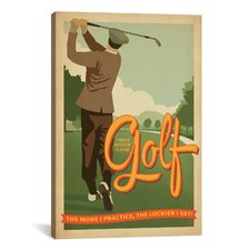 """Golf Bad Day"" by Anderson Design Group Wall Art on Wrapped Canvas"