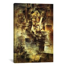 Picasso Portrait Of Daniel-Henry Kahnweiler Canvas Print Wall Art