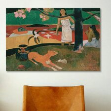 'Pastorales Tahitiennes' by Paul Gauguin Painting Print on Canvas