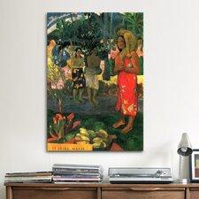 'Hail Mary' by Paul Gauguin Painting Print on Canvas