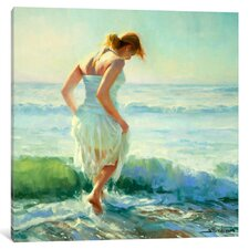 'Gathering Thoughts' by Steve Henderson Painting Print on Wrapped Canvas