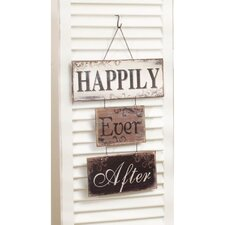 Happily Ever After Metal Sign Wall Décor
