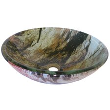 Cullare Glass Vessel Bathroom Sink