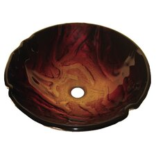 Rovente Glass Vessel Bathroom Sink