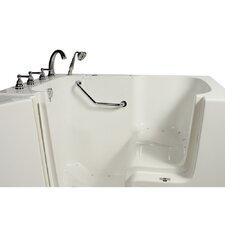 """Wheelchair Access 51.5"""" x 40.25"""" Air Massage Whirlpool Bathtub"""