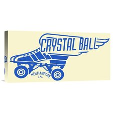 'Crystal Ball' by RetroRollers Vintage Advertisement on Wrapped Canvas