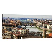 'Ponte Vecchio, Florence' by Vadim Ratsenskiy Photographic Print on Canvas