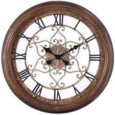 "Oversized 24.5"" Audrey Round Wall Clock"