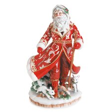 Town and Country Santa Figurine