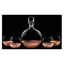 Daphne Fitz and Floyd Decanter and Glass Set