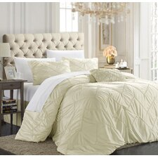Isabella 4 Piece Duvet Cover Set