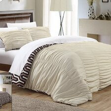 Elissa 3 Piece Duvet Cover Set