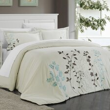 Kaylee 3 Piece Duvet Set