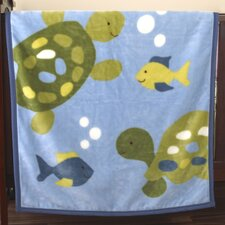 Turtle Reef Soft and Cozy Blanket