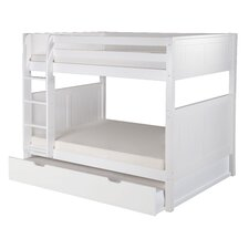 Traditional Camaflexi Full Bunk Bed with Twin Trundle