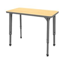 Apex Series Melamine Height Adjustable Classroom Desk