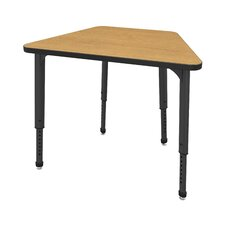 Apex Series Melamine Adjustable Height Classroom Desk