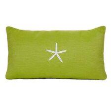 Starfish Sunbrella Lumbar Pillow