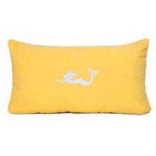 Mermaid Beach Sunbrellar Outdoor Lumbar Pillow