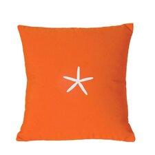 Starfish Sunbrella Throw Pillow