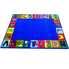 My ABC Squares Area Rug