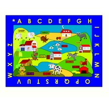 Farm Village Area Rug