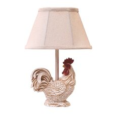"""Chante Claire 12"""" H Table Lamp with Empire Shade"""
