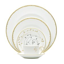 Gilded Leaf Dinnerware Collection