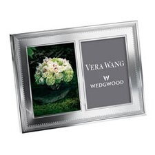Grosgrain Double Picture Frame