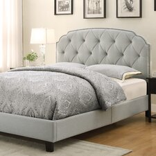 Laila Upholstered Queen Panel Bed