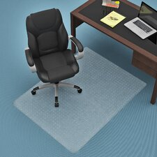 Commercial Carpet Straight Edge Chair Mat