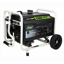 Peak 4,100 Watt Dual Fuel Generator with Recoil Start