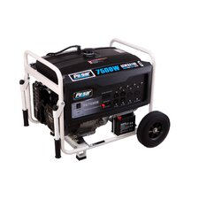 Peak 7,500 Watt Dual Fuel Generator with Electric Start