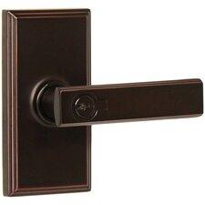 Utica Keyed Right Hand Door Lever